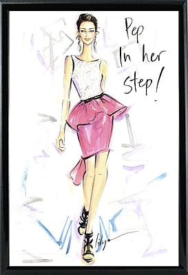 East Urban Home 'Pep in Her Step' Print; Paper