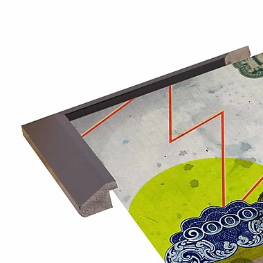 East Urban Home 'James Dean' Framed Graphic Art Print; Paper