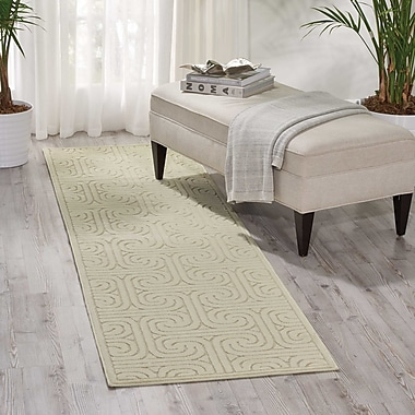 Mercer41 Marietta Beige Area Rug; Rectangle 5'3'' x 7'5''