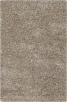 Loon Peak Aviles Grey Area Rug; Rectangle 9' x 13'