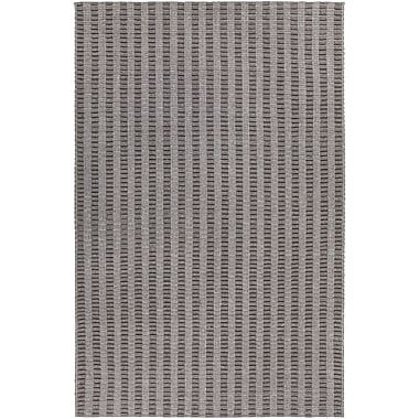 Foundry Select Allerdale Hand-Woven Gray Area Rug; 7'9'' x 10'6''