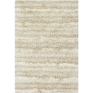 Foundry Select Altitude White Area Rug; Round 7'9''