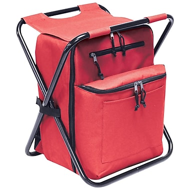 Preferred Nation 12 Can Seated Backpack Cooler; Red