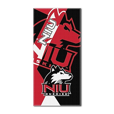 Northwest Co. COL Northern Illinois Puzzle Beach Towel