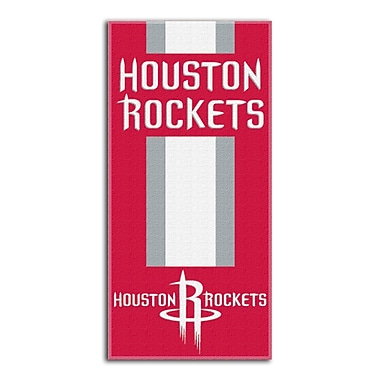 Northwest Co. NBA Rockets Zone Read Beach Towel