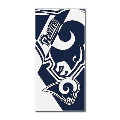 Northwest Co. NFL Rams Puzzle Beach Towel