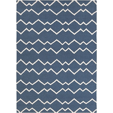 Longshore Tides Jayson Wool Rug; 7' x 10'