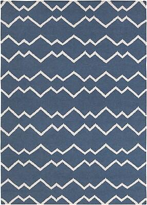 Longshore Tides Jayson Wool Rug; 5' x 7'