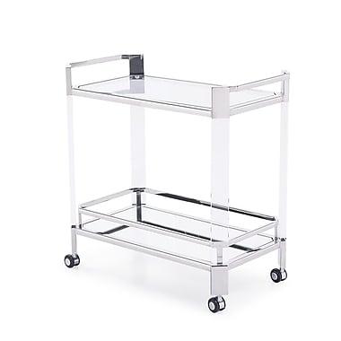 Blink Home Newport Bar Cart; Silver