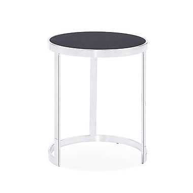 Blink Home Soho 2 Piece Nesting Tables; Charcoal