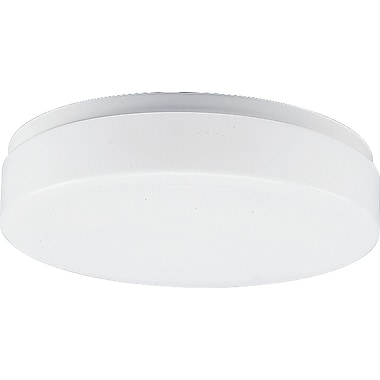 Red Barrel Studio Sharif 11'' White Acrylic Contoured Ceiling Cloud
