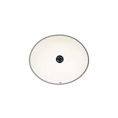 St Thomas Creations by Icera Vanity Oval Undermount Bathroom Sink; Balsa