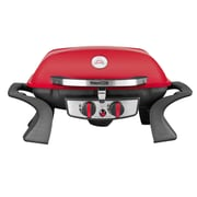 Royal Gourmet Portable Tabletop 2-Burner Propane Gas Grill; Red