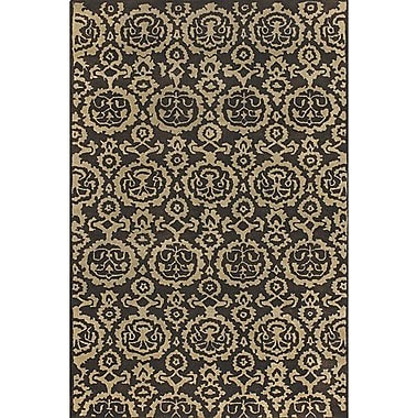 Bloomsbury Market Casselberry Brown Area Rug; Rectangle 2' x 3'