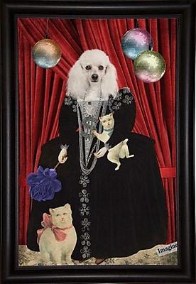 East Urban Home 'Jezebel' Framed Graphic Art Print; Rolled Canvas