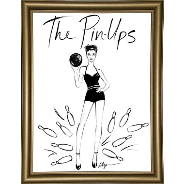 East Urban Home 'The Pin Ups' Print; Rolled Canvas