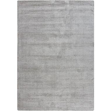 Orren Ellis Yiwei Wool Light Gray Area Rug; 7' x 10'