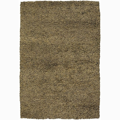 Union Rustic Haddington Brown Area Rug; 9' x 13'