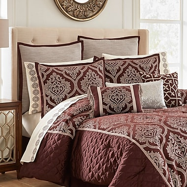 Vue Signature Edinburgh 13 Piece Comforter Set; Queen