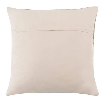 Everly Quinn Kenetra Scale Natural/Organic Throw Pillow; 22'' x 22''