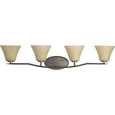 Fleur De Lis Living Karla Modern 4-Light Vanity Light; Antique Bronze