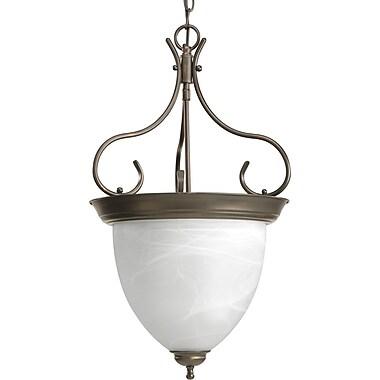 Fleur De Lis Living Cates 4-Light Foyer Pendant; Antique Bronze