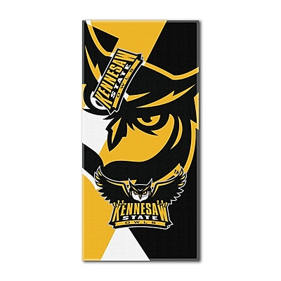 Northwest Co. COL Kennesaw State Puzzle Beach Towel