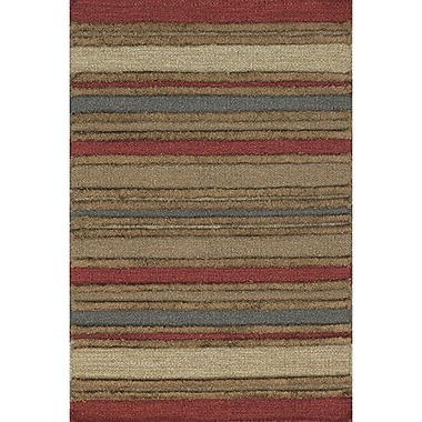 Loon Peak Barbazan Striped Rug; 3'6'' x 5'6''