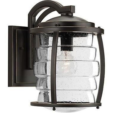 Loon Peak Celestine 1-Light Outdoor Wall Lantern; 14.75'' H x 13.38'' W x 13.38'' D