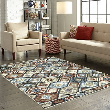 Loon Peak Chatelaine Tan Area Rug; 1'8'' x 2'10''