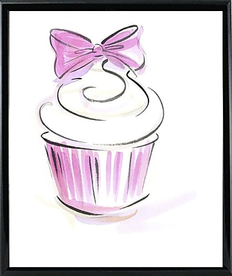 East Urban Home 'Cupcake-3' Print; Rolled Canvas