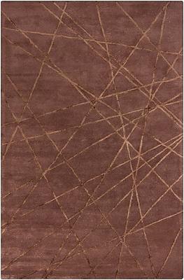 17 Stories Lee-Yin Brown Geometric Area Rug; 8' x 10'