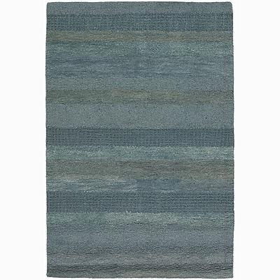 17 Stories Kha Stripe Rug; Rectangle 7'9'' x 10'6''