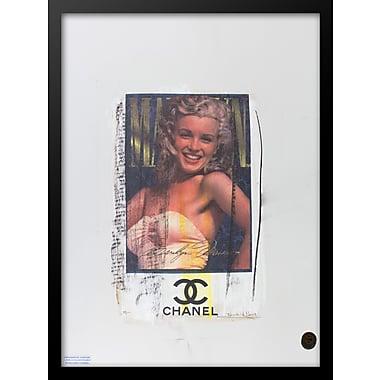 East Urban Home 'Marilyn' Vertical Rectangle Framed Graphic Art Print