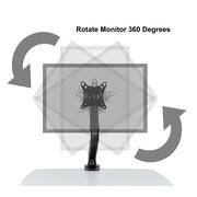 Atlantic Gas Spring Monitor Universal Desk Mount