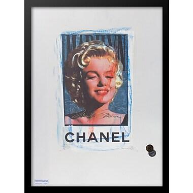 East Urban Home 'Marilyn' Rectangular Framed Graphic Art Print