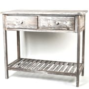 August Grove Foxburg Wooden Kitchen Console Table