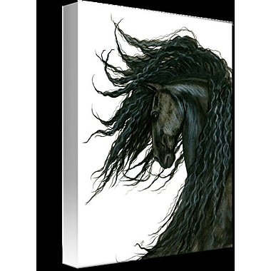 Foundry Select 'DreamWalker Horse Bihrle' Graphic Art Print on Wrapped Canvas
