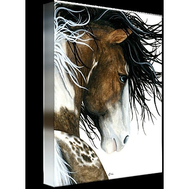 Foundry Select 'Majestic Pintaloosa Horse' Graphic Art Print on Wrapped Canvas
