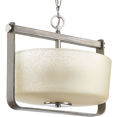 Gracie Oaks Andrade 2-Light Semi Flush Mount