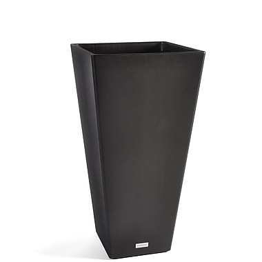 Veradek V-Resin Taper Plastic Pot Planter; 31.5'' H x 16'' W x 16'' D