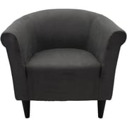 Varick Gallery Reichert Club Chair; Suede Black