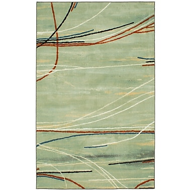 Bloomsbury Market Collingdale Green Area Rug; Rectangle 5' x 8'