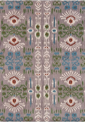 Bungalow Rose Cache Traditional Abstract Rug; Rectangle 5' x 7'