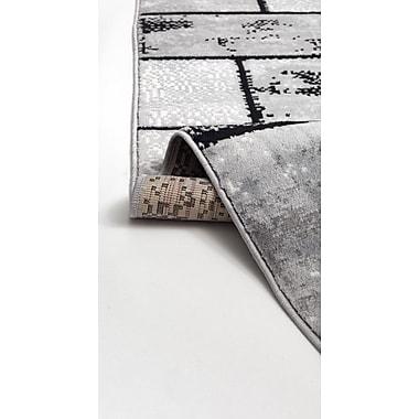 Ebern Designs Apodaca Dusty Brick Gray Area Rug; Runner 3' x 8'