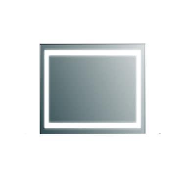 Orren Ellis Ankit Modern LED Square Bathroom Vanity Mirror