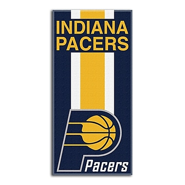 Northwest Co. NBA Pacers Zone Read Beach Towel