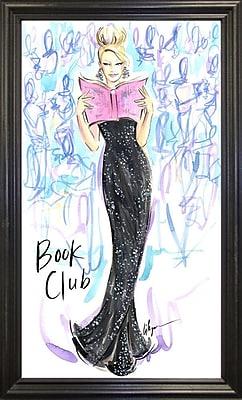 East Urban Home 'Book Club' Print; Rolled Canvas
