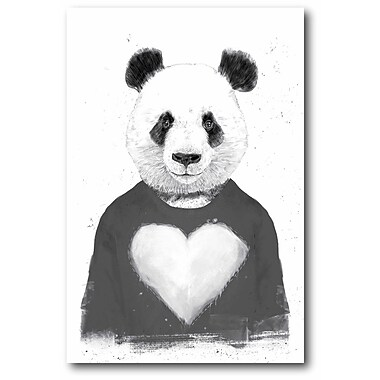 Varick Gallery 'Zombie Panda' Graphic Art Print on Wrapped Canvas