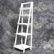 Mr.MJs Wooden 59.6'' H Shelving Unit; White